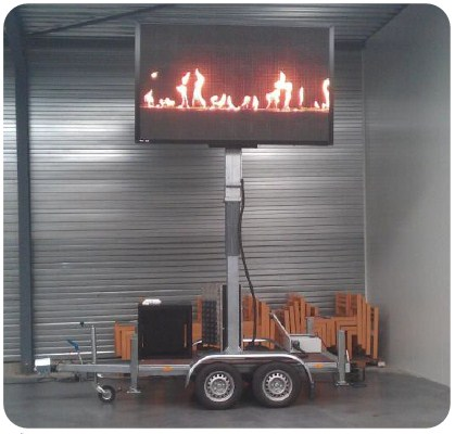 Betoled trailer LED screen